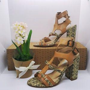 Cynthia Rowley Snake Sandals Size 7.5